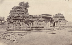 General view from the south-west of the Kashivishveshvara Temple, Lakkundi 10031971